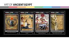 Sierra Leone 2017 Art of Ancient Egypt S/S SRL17111