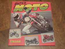 RARE SPANISH PANINI SUPER MOTO SPORT MOTORCYCLING STICKER ALBUM EMPTY UNUSED