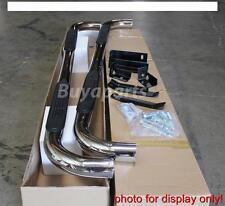 2002-2008 Dodge Ram 1500 Quad Cab 3' S/S CHROME SIDE STEP NERF BAR RUNNING BOARD