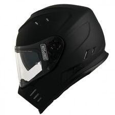 SIMPSON Helm Venom schwarz matt Gr. M = 57/58 mit Sonnenblende NEU black matt