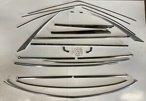 Mazda Rx3 Coupe Window Stainless Trim Set