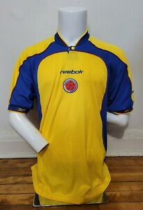 Reebok L 2001-03 Colombia Home Soccer Football jersey