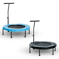 Trampoline Rebounder Workout Adjustable Handle Fitness Jumper 2 Colours 40""
