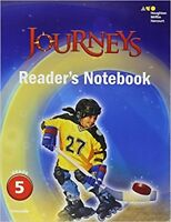 Grade 5 Journeys Readers Notebook Student Edition 2017 5th