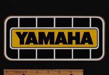 Large YAMAHA Vintage Motorcycle Motocross STICKER Decal YZ490 RD400 YZ360 FZR750
