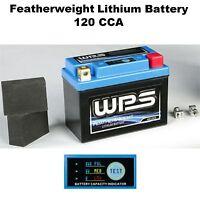 Featherweight Lithium Ion Battery 120 CCA Motorcycle Dirtbike Street Sport Bike