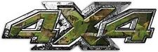 "4x4 Truck Decals Big Dog Custom Style in Camouflage 14"" REFLECTIVE 026"