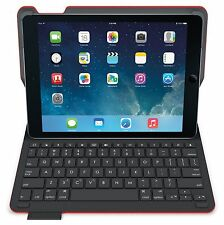 Logitech TYPE+ iPad Air 1 Bluetooth ITALIAN Keyboard Folio Red Case Cover