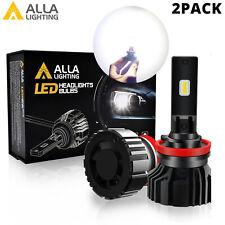 Alla Lighting TXH White LED Headlight Bulbs H1 H7 H8 H9 H11 H16 9005 9006 9012
