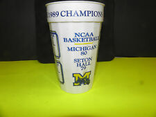 Ncaa Michigan Wolverines- Hail To The 1989 Champions Football/Basketball Cup
