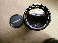 Toyo Optics Five Star 1:4.5 75-200mm Camera Zoom Macro Lens for Minolta Slr