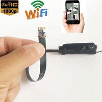 1080P HD spy WIFI wireless IP internet DIY screw hidden camera color micro dvr