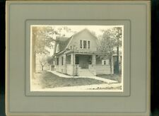 c1910 Mounted Photo House Exterior Carthage Missouri