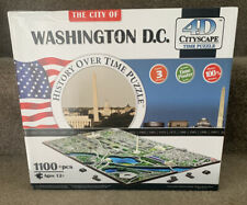 The City Of Washington DC History Of Time 4D Cityscape Time Puzzle 1100+ Pieces