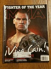ULTIMATE MMA MAG. CAIN VELASQUEZ MARCH 2011 FIGHTER OF THE YEAR