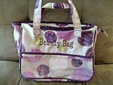"Thirty-One Tote Bag ""Beauty Bag"" Monogram"