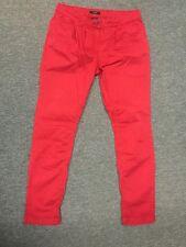 Esprit Chino Pant Damen Casual Denim Jeans Rot Gr 36 Top Zustand