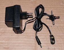 Universal Netzteil Netz adapter stecker gerät Trafo 3V 4,5V 6V 7,5V 9V 12V 300mA