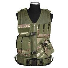 Army Combat Usmc Tactical Vest Mag Buste Airsoft Vegetato Woodland Camo