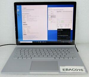 "Microsoft 13.5"" Surface Book 2 i5-7300U 2.6GHz 8GB 256GB SSD -Faulty Battery 016"