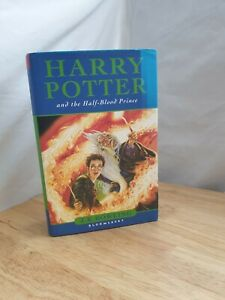 Harry Potter And The Half Blood Prince 1st Edition Miss Print Error Bloomsbury