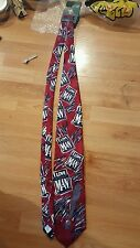 NWT BUDWEISER BEER I LOVE YOU MAN NECKTIE TIE