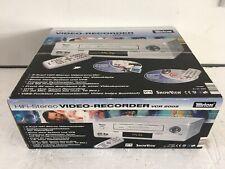 Tevion vcr-2005 VHS-Video Recorder 6-TESTA NUOVO IN OVP NEW, 2 ANNI GARANZIA
