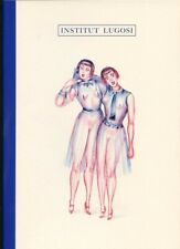 INSTITUT LUGOSI Sketchbook Drawings by Mirka Lugosi Paris ~ Vasta Editions 2020