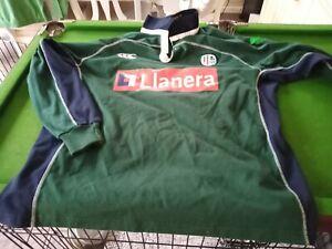 Canterbury Vintage London Irish l/sleeve rugby shirt XXL 2XL