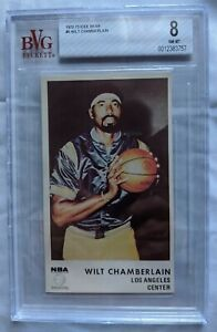 1972 73 ICEE BEAR #5 WILT CHAMBERLAIN HOF LOS ANGELES LAKERS BECKETT BVG 8 NM-MT