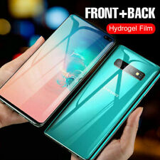 HYDROGEL Screen Protector Samsung Galaxy S20 Ultra S10 S9 S8 Note 10 Front Back