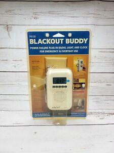 FR-100 Eton Blackout Buddy Power Failure Emergency Radio LED Light Clock