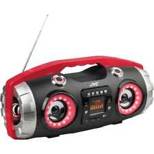 JVC Portable CD Player with Bluetooth/USB/SD/FM Radio/AUX/Remote