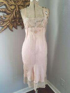 Vintage Half Slip Skirt Warner/'s Shine On Peach Medium