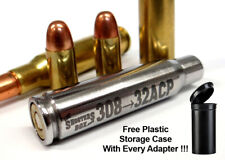 308 Winchester to 32ACP Rifle Adapter - Chamber Reducer - Stainless - Free Ship!