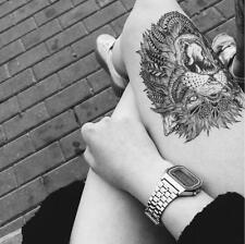 Temporary Tattoo Stickers Body Art Waterproof Big Roar of Lion