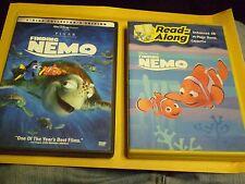 (2) Disney Finding Nemo DVD Lot: Collector's Edition & Read-Along DVD & Cassette