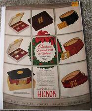 1950's Hickok Clothing Christmas ad