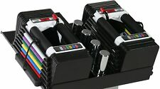 ✅NEW & UNOPENED PowerBlock Personal Trainer Set 5 to 50 Pounds, 2 Dumbbell Pair