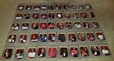 2019 FLEER HANES MICHAEL JORDAN RED SET 50 CARDS ALL STAR SET 10 60 CARDS TOTAL