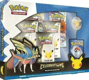 Pokemon Celebrations Deluxe Pin Collection 25th Anniversary - New - In Stock!