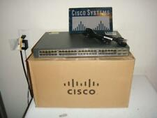 Cisco Catalyst 3750 V2 Series 48-Port PoE Switch WS-C3750V2-48PS-S
