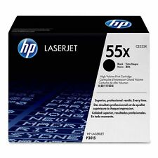 Partially New USED Genuine HP 55X Laser Cartridge 30% Toner Remaining CE255X