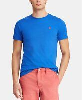 Polo Ralph Lauren Men's Crew Neck T-Shirt New Iris Blue M item #710671426060