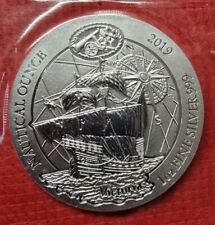 More details for 2019 the victoria rwanda nautical 1 oz 999 silver bullion in omp