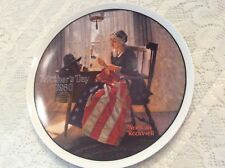 """Norman Rockwell~MOTHERS DAY~1980~""""A Mother's Pride"""" Plate~#09510G~COA~Orig. Box+"""