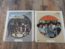 Vintage CED Videodisc LOT-Three Musketeers, Four Musketeers-Raquel Welch-RARE!