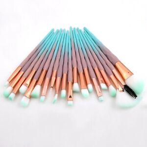20PCS Professional Make Up Brushes Set Eye shadow Lip Powder Foundation tool set