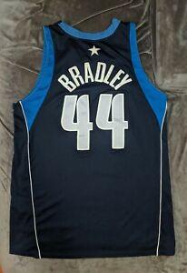 SHAWN BRADLEY Dallas Mavericks GAME USED WORN Nike Jersey 76ers Dirk MeiGray COA
