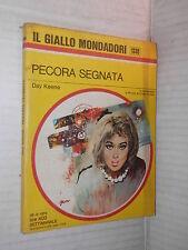 PECORA SEGNATA Day Keene Il giallo Mondadori 1339 1974 libro narrativa storia di